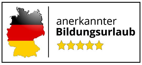 bildungsurlaub logo - Intensive course