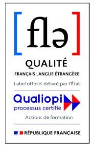 Logo Double Label FLE RF 192x300 - Inlingua La Rochelle